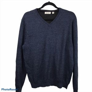 Calvin Klein Men's Marino V Neck Pullover Sweater